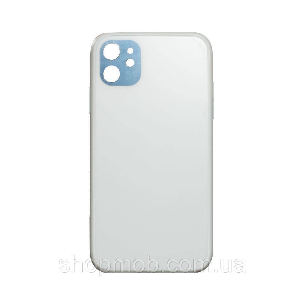 Чехол TPU Matt for Apple Iphone 11 Цвет Белый