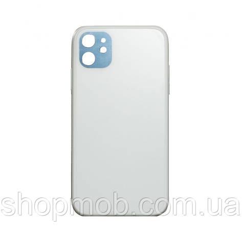 Чехол TPU Matt for Apple Iphone 11 Цвет Белый, фото 2