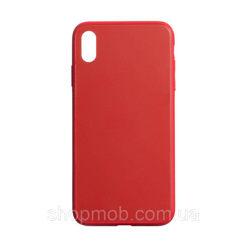 Чехол TPU Matt for Apple Iphone Xs Max Цвет Красный