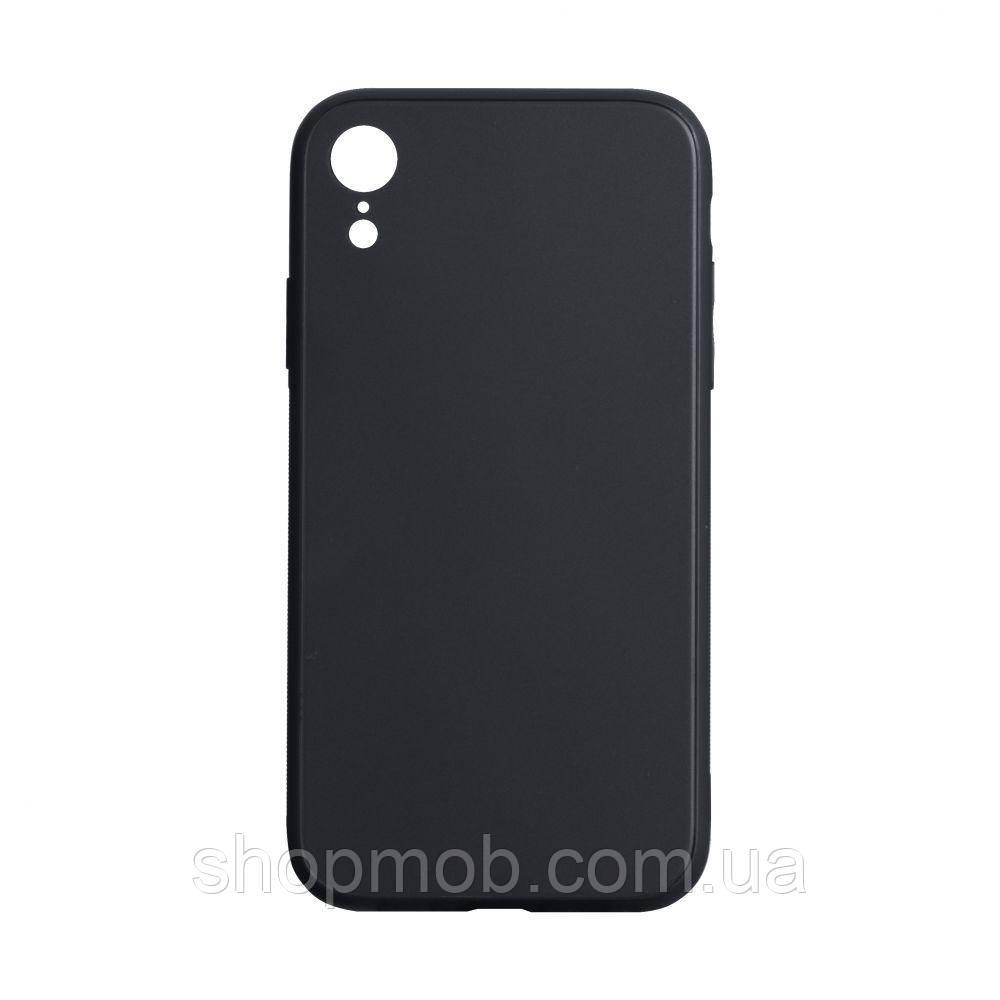 Чехол TPU Matt for Apple Iphone Xr Цвет Чёрный