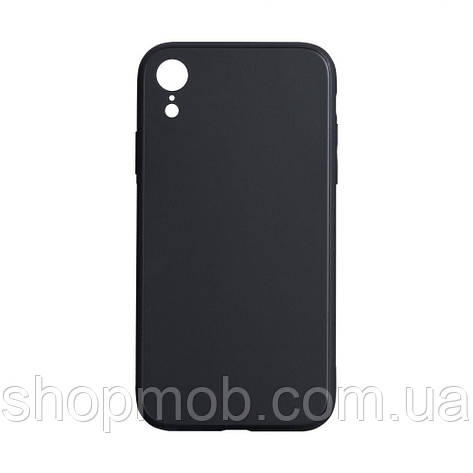 Чехол TPU Matt for Apple Iphone Xr Цвет Чёрный, фото 2