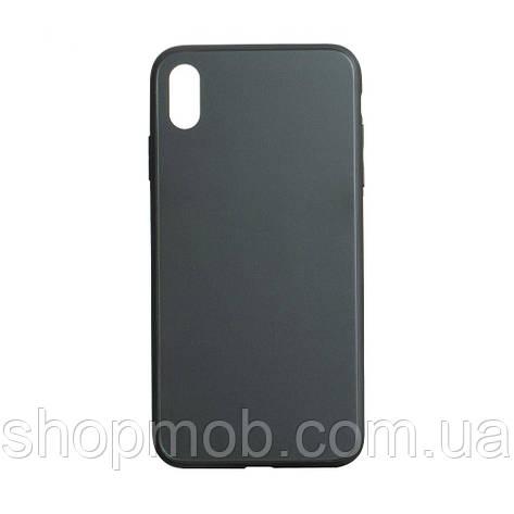 Чехол TPU Matt for Apple Iphone X / Xs Цвет Зелёный, фото 2