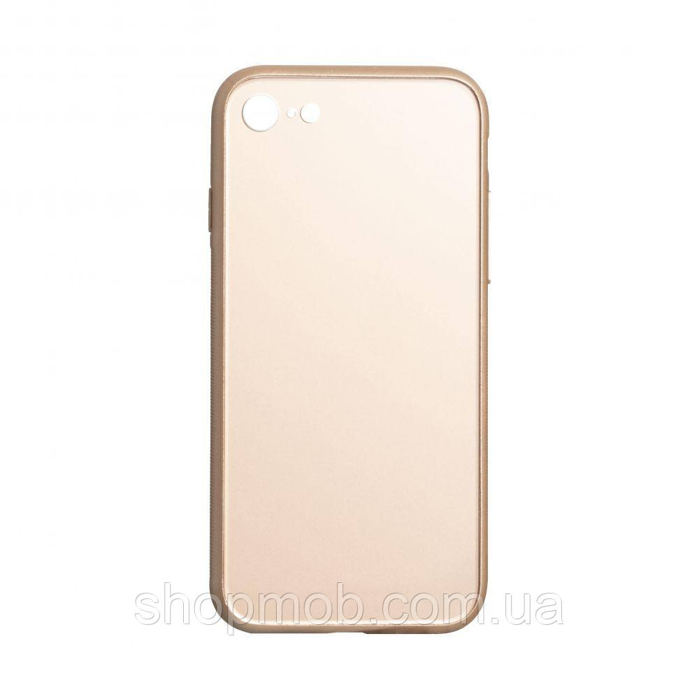 Чехол TPU Matt for Apple Iphone 7G / 8G Цвет Золотой