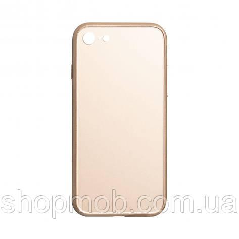 Чехол TPU Matt for Apple Iphone 7G / 8G Цвет Золотой, фото 2