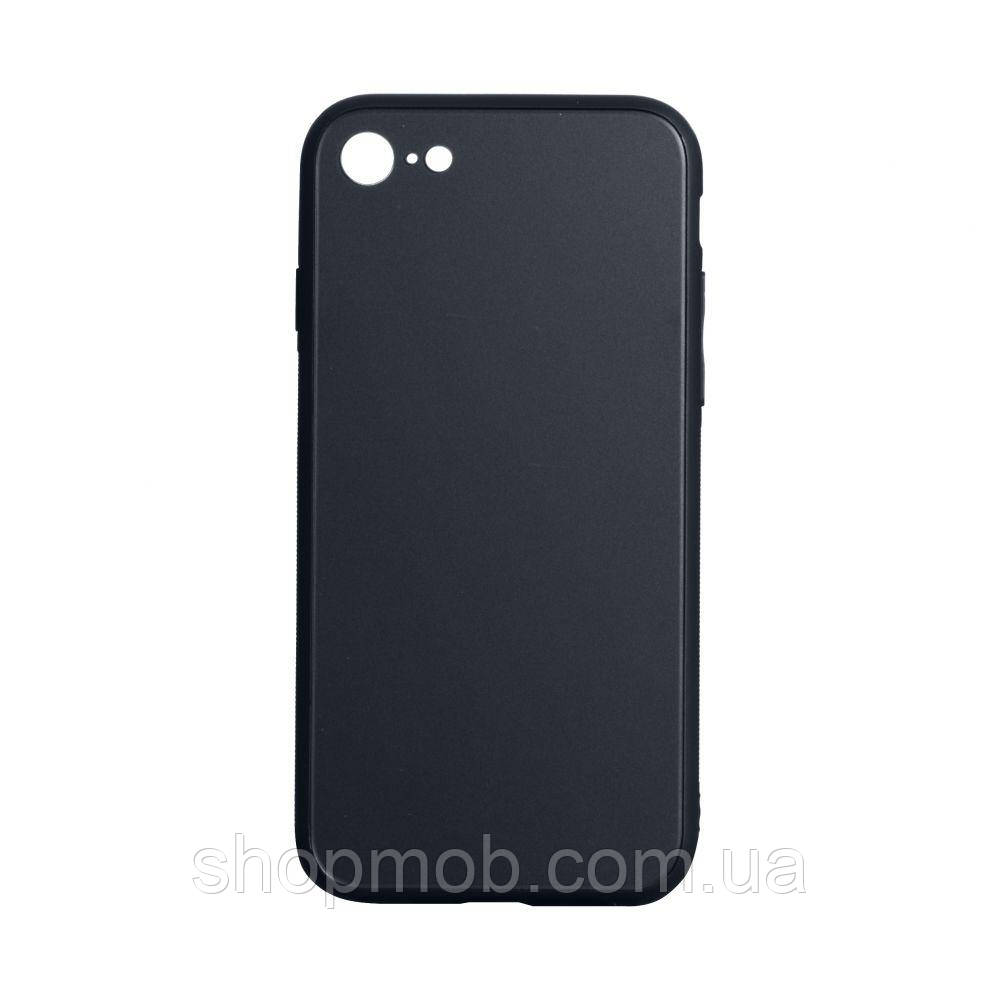 Чехол TPU Matt for Apple Iphone 7G / 8G Цвет Чёрный