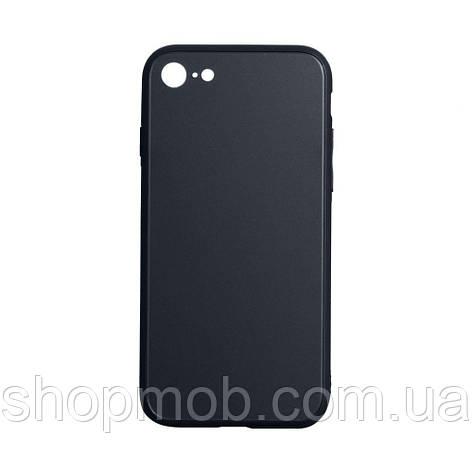 Чехол TPU Matt for Apple Iphone 7G / 8G Цвет Чёрный, фото 2