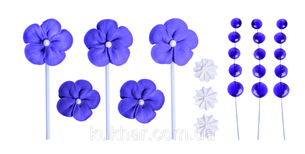 """Набір """"Квіти Фіолетові"""" Топер"""