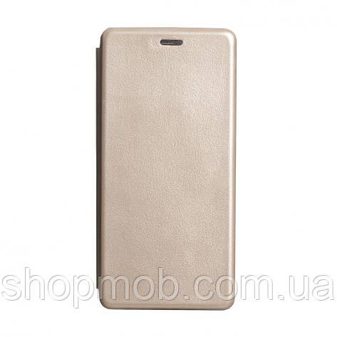 Чехол-книжка кожа Samsung S20 Plus 2020 Цвет Золотой, фото 2