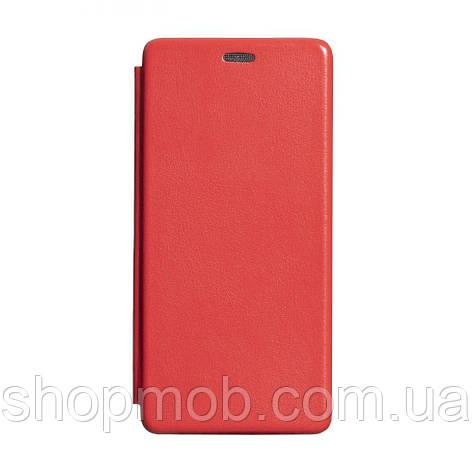 Чехол-книжка кожа Samsung S20 Plus 2020 Цвет Красный, фото 2