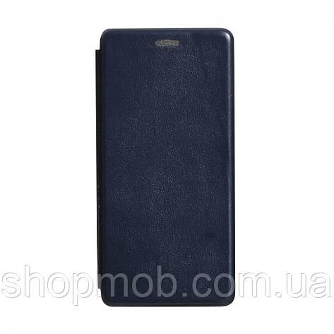 Чехол-книжка кожа Samsung S20 Plus 2020 Цвет Тёмно-Синий, фото 2