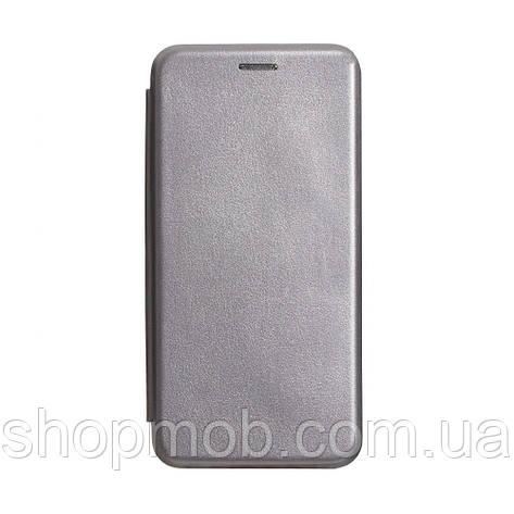 Чехол-книжка кожа Samsung S20 2020 Цвет Серый, фото 2
