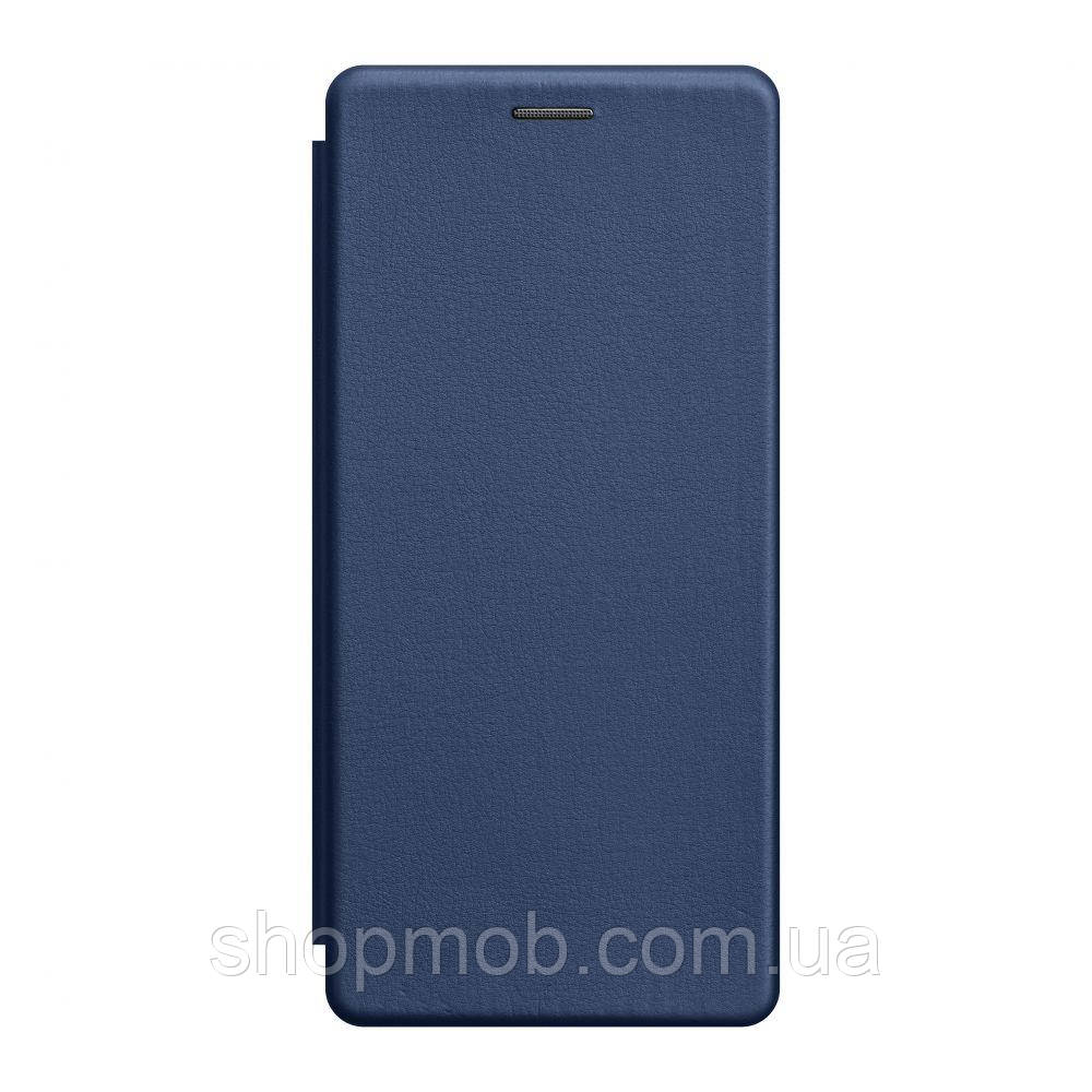 Чохол-книжка шкіра Samsung S20 Ultra 2020 Колір Синій