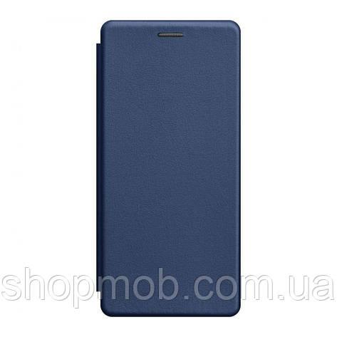 Чохол-книжка шкіра Samsung S20 Ultra 2020 Колір Синій, фото 2