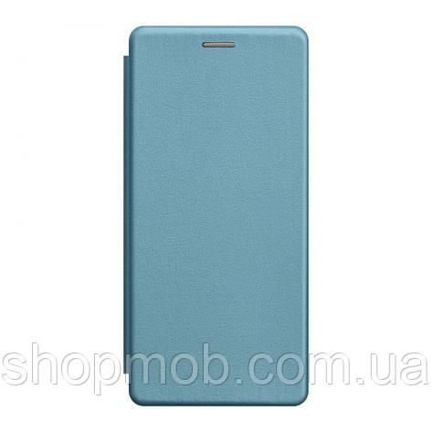 Чохол-книжка шкіра Samsung S20 Ultra 2020 Колір Блакитний, фото 2