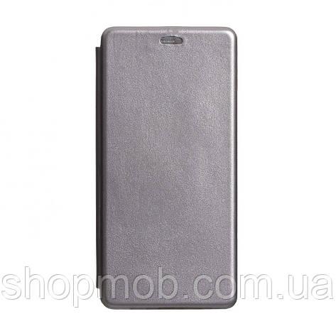 Чехол-книжка кожа Samsung S20 Ultra 2020 Цвет Серый, фото 2