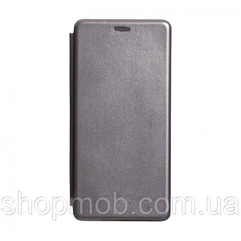 Чехол-книжка кожа Samsung S10 Lite 2020 Цвет Серый, фото 2
