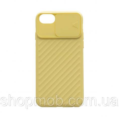 Чехол Сurtain Color for Iphone 6 Цвет Жёлтый, фото 2