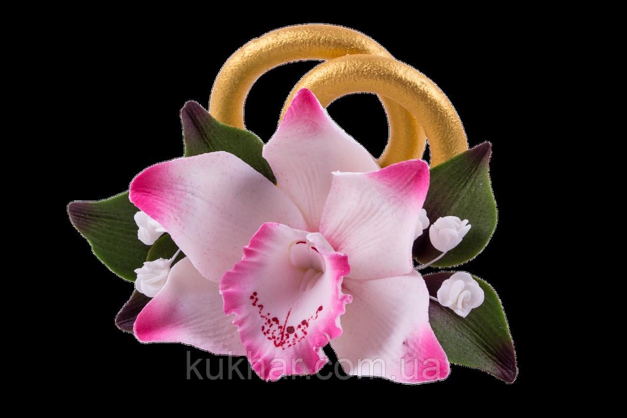 Каблучки преміум Орхідея