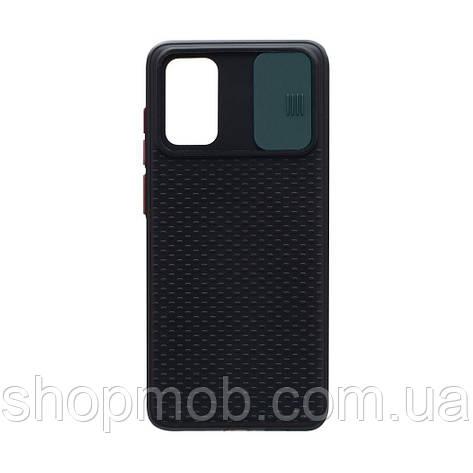 Чехол накладка для смартфонов (с защитой камеры) Non-slip Curtain for Samsung S20 Plus Цвет Зелёный, фото 2