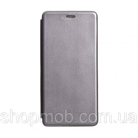 Чехол-книжка кожа Xiaomi Redmi K30 Цвет Серый, фото 2