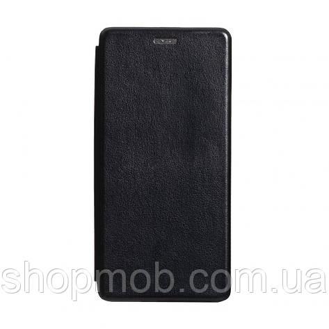 Чехол-книжка кожа Xiaomi Redmi K30 Цвет Чёрный, фото 2