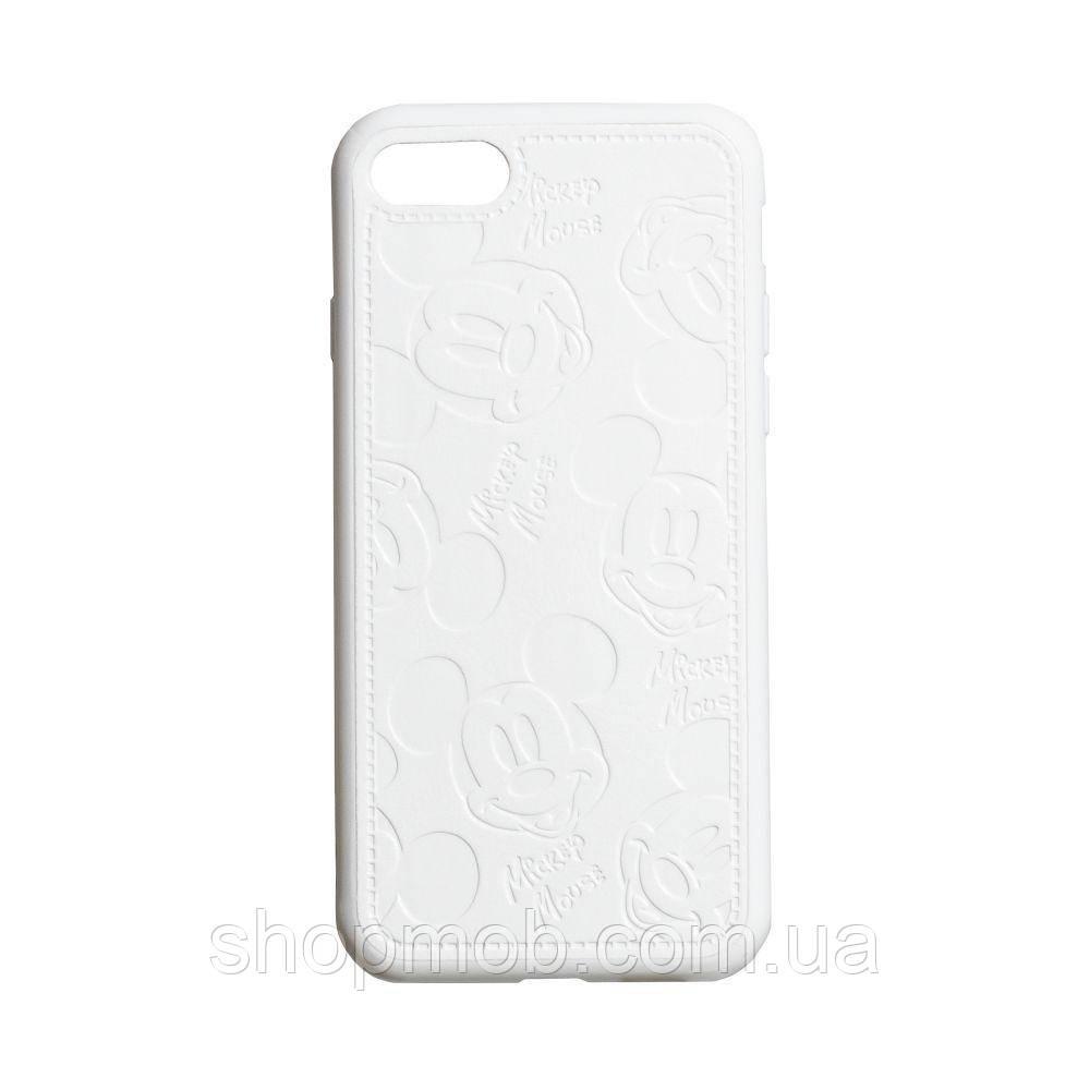 Чехол Mickey for Apple Iphone 7 / 8 / SE 2020 Цвет Белый