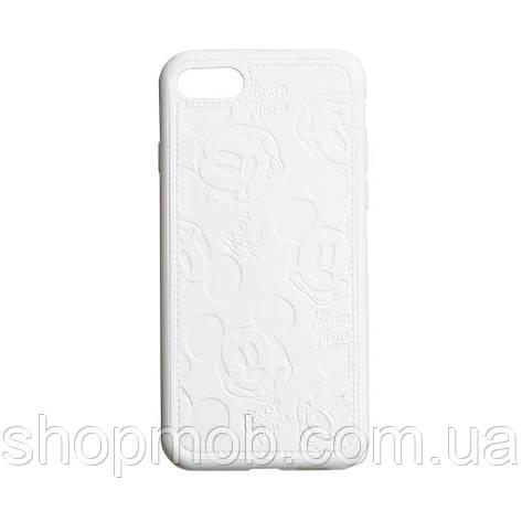 Чехол Mickey for Apple Iphone 7 / 8 / SE 2020 Цвет Белый, фото 2