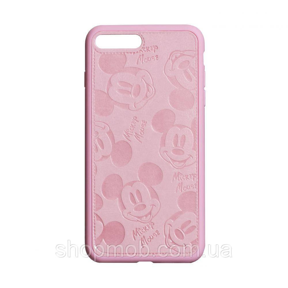 Чехол Mickey for Apple Iphone 7/8 Plus Цвет Розовый