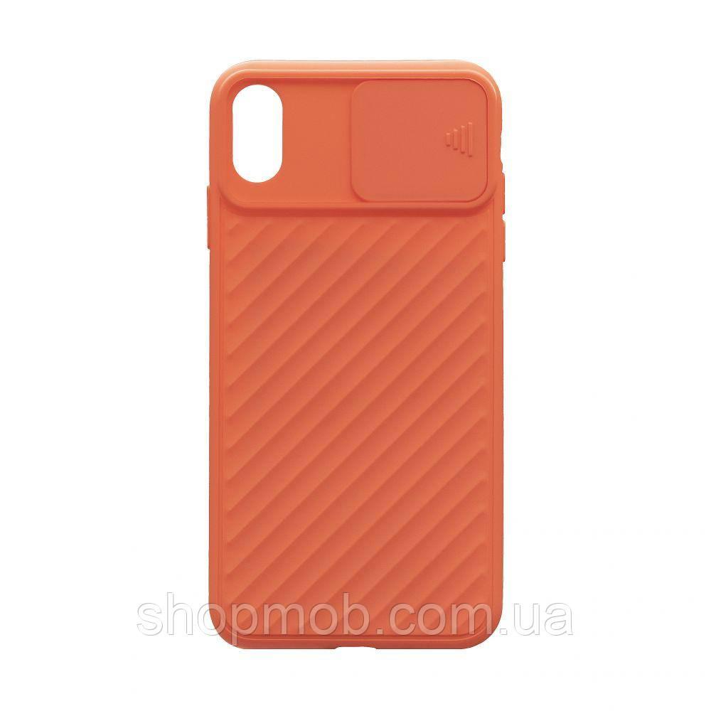 Чехол Сurtain Color for Iphone Xs Max Цвет Оранжевый
