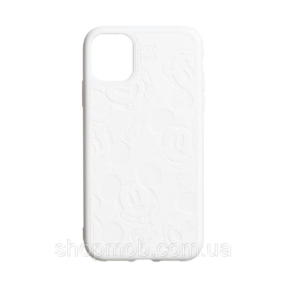 Чехол Mickey for Apple Iphone 11 Цвет Белый