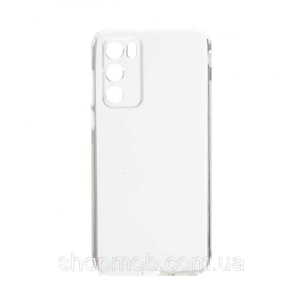 Чехол накладка для смартфонов (силикон прозрачные) KST for Huawei P40 Цвет Прозрачный