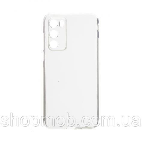Чехол накладка для смартфонов (силикон прозрачные) KST for Huawei P40 Цвет Прозрачный, фото 2
