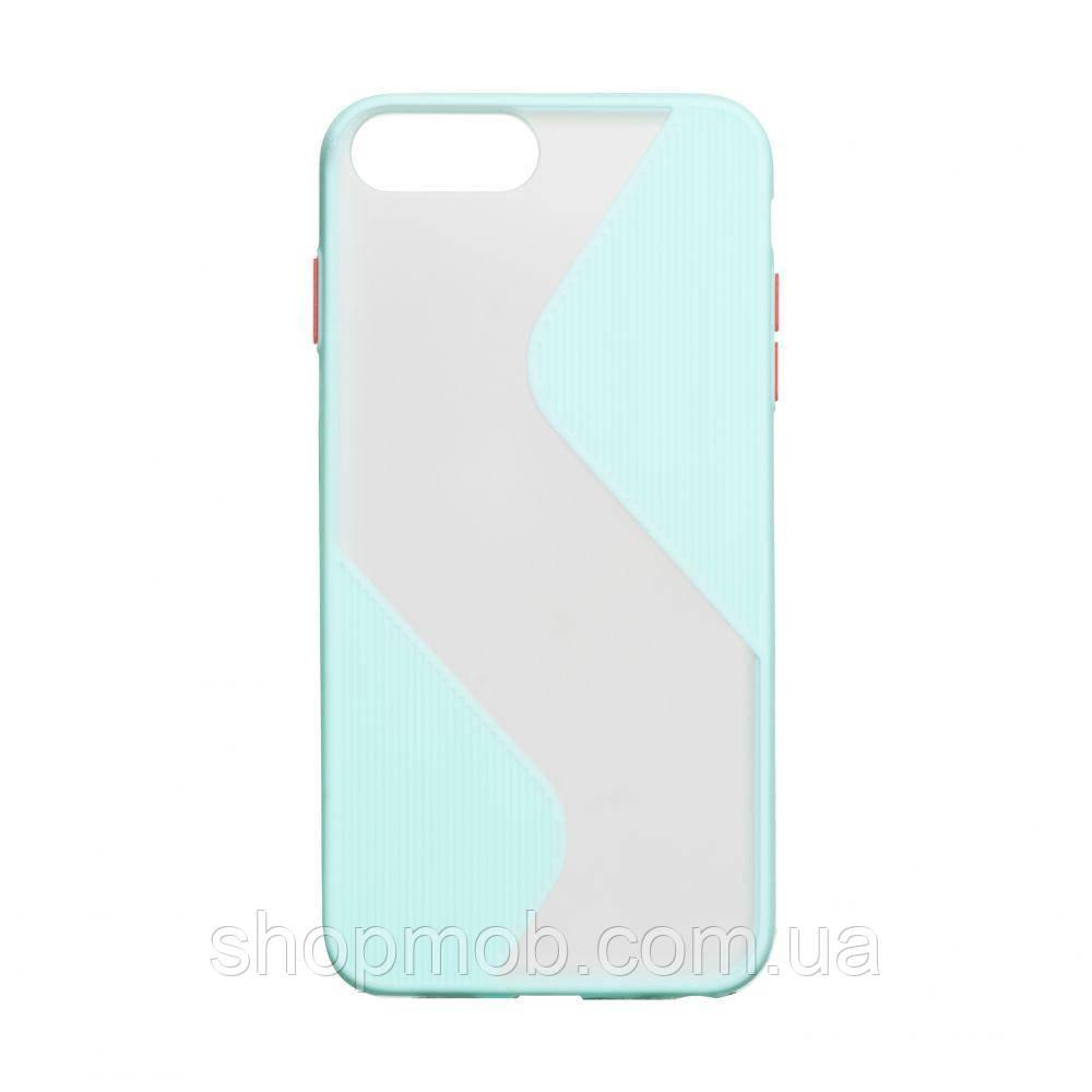 Чехол Totu Wave for Apple Iphone 7 Plus / 8 Plus Цвет Бирюзовый