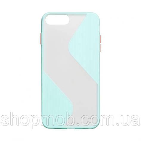 Чехол Totu Wave for Apple Iphone 7 Plus / 8 Plus Цвет Бирюзовый, фото 2
