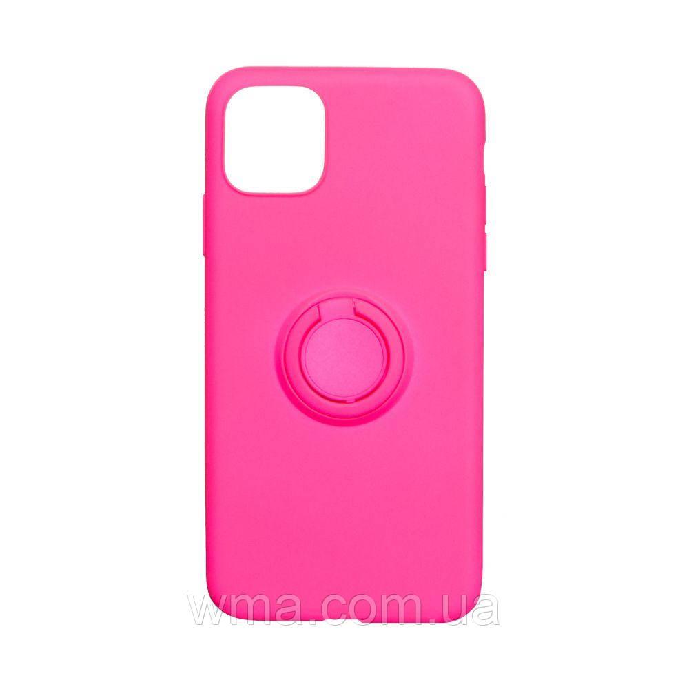 Чехол Ring Color for Iphone 11 Цвет Розовый