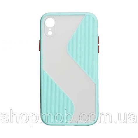 Чехол Totu Wave for Apple Iphone Xr Цвет Бирюзовый, фото 2