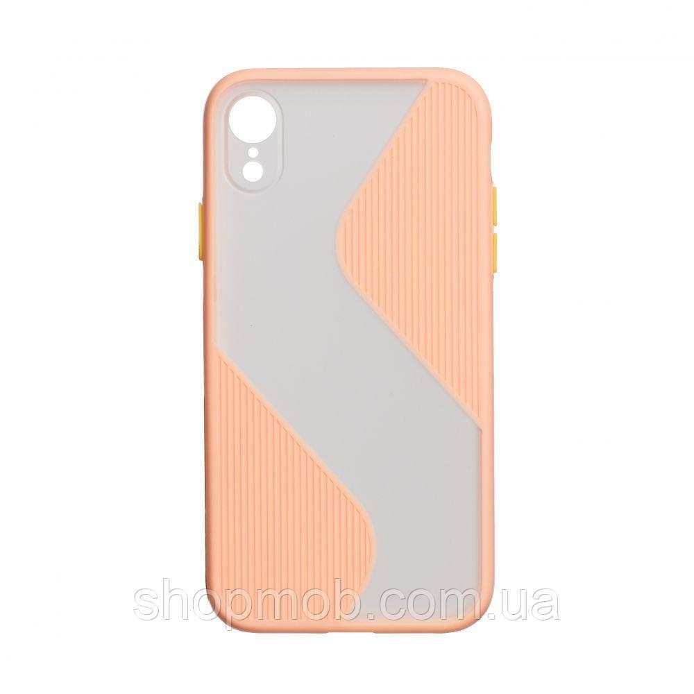 Чехол Totu Wave for Apple Iphone Xr Цвет Розовый