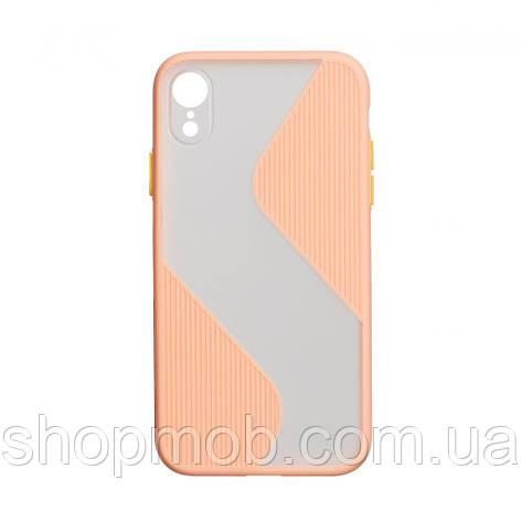 Чехол Totu Wave for Apple Iphone Xr Цвет Розовый, фото 2