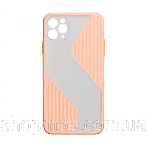 Чехол Totu Wave for Apple Iphone 11 Цвет Розовый, фото 2