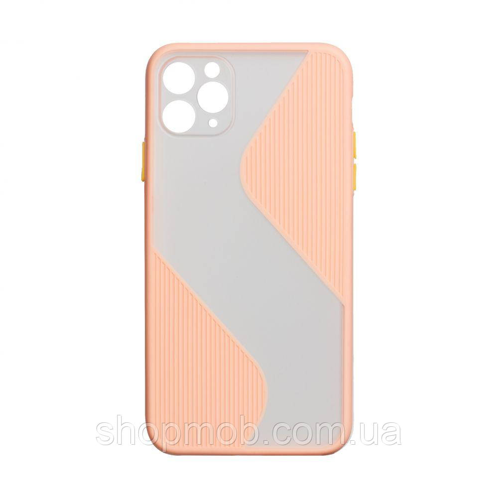 Чехол Totu Wave for Apple Iphone 11 Pro Цвет Розовый