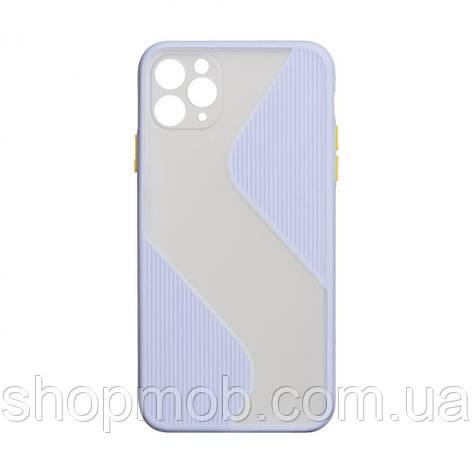 Чехол Totu Wave for Apple Iphone 11 Pro Цвет Сиреневый, фото 2