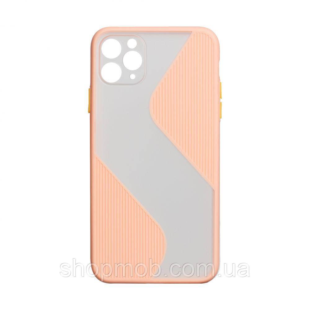 Чехол Totu Wave for Apple Iphone 11 Pro Max Цвет Розовый