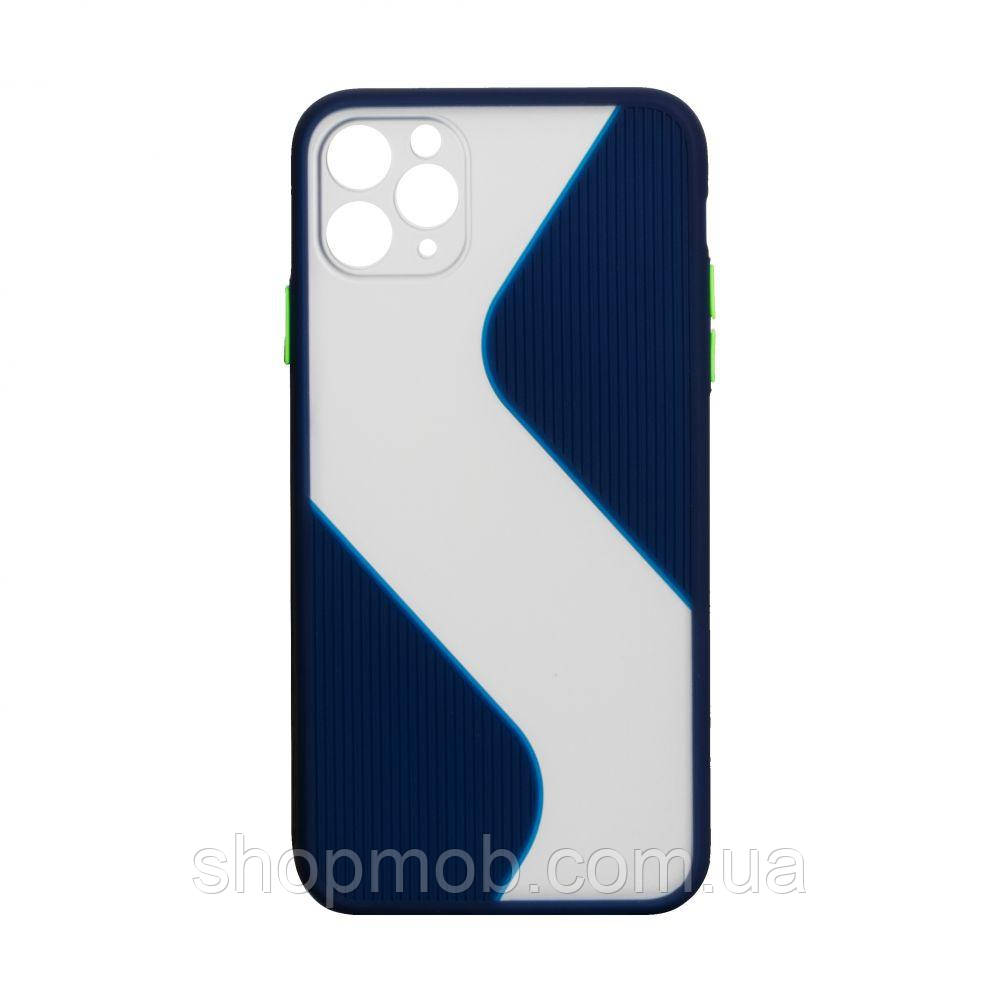 Чехол Totu Wave for Apple Iphone 11 Pro Max Цвет Синий
