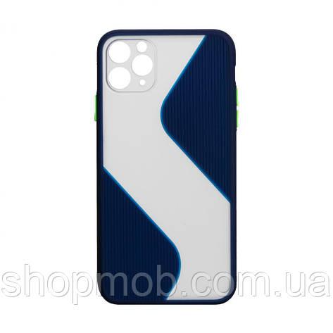 Чехол Totu Wave for Apple Iphone 11 Pro Max Цвет Синий, фото 2