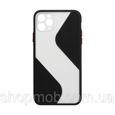Чехол Totu Wave for Apple Iphone 11 Pro Max Цвет Чёрный, фото 2
