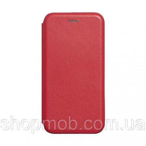 Чехол-книжка кожа Realme X2 Pro Цвет Красный, фото 2