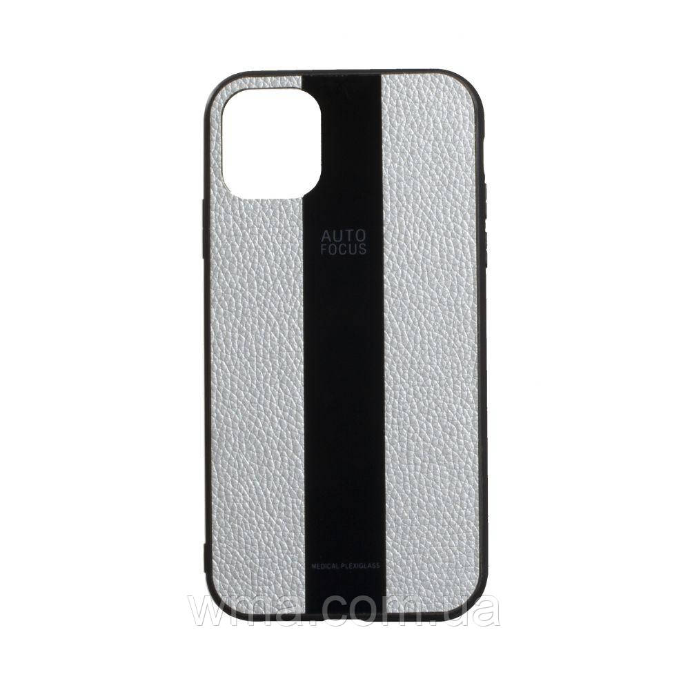 Чехол Combi Leather for Apple Iphone 11 Pro Цвет 25, Grey