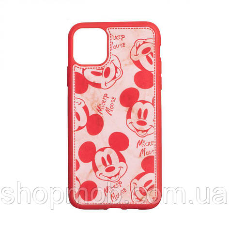 Чехол Mickey Color print for Apple Iphone 11 Pro Max Цвет Красный, фото 2