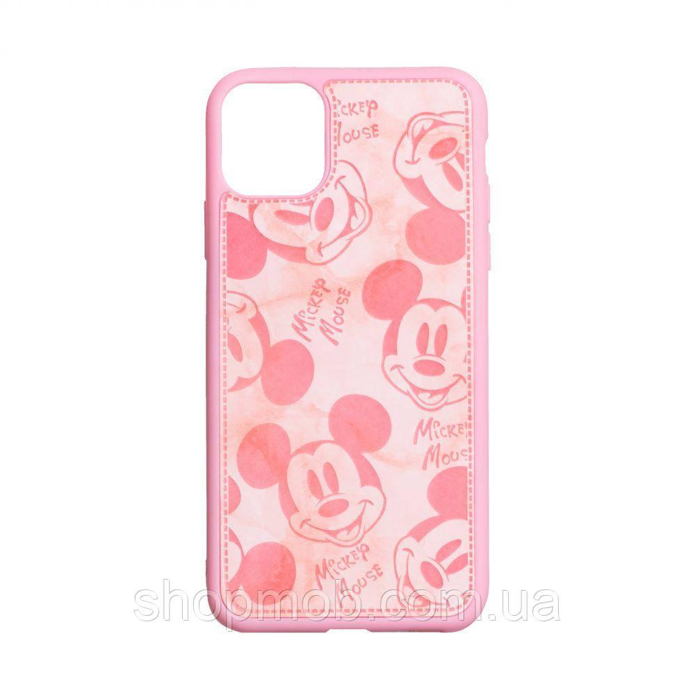 Чехол Mickey Color print for Apple Iphone 11 Pro Max Цвет Розовый