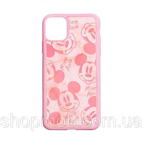 Чехол Mickey Color print for Apple Iphone 11 Pro Max Цвет Розовый, фото 2